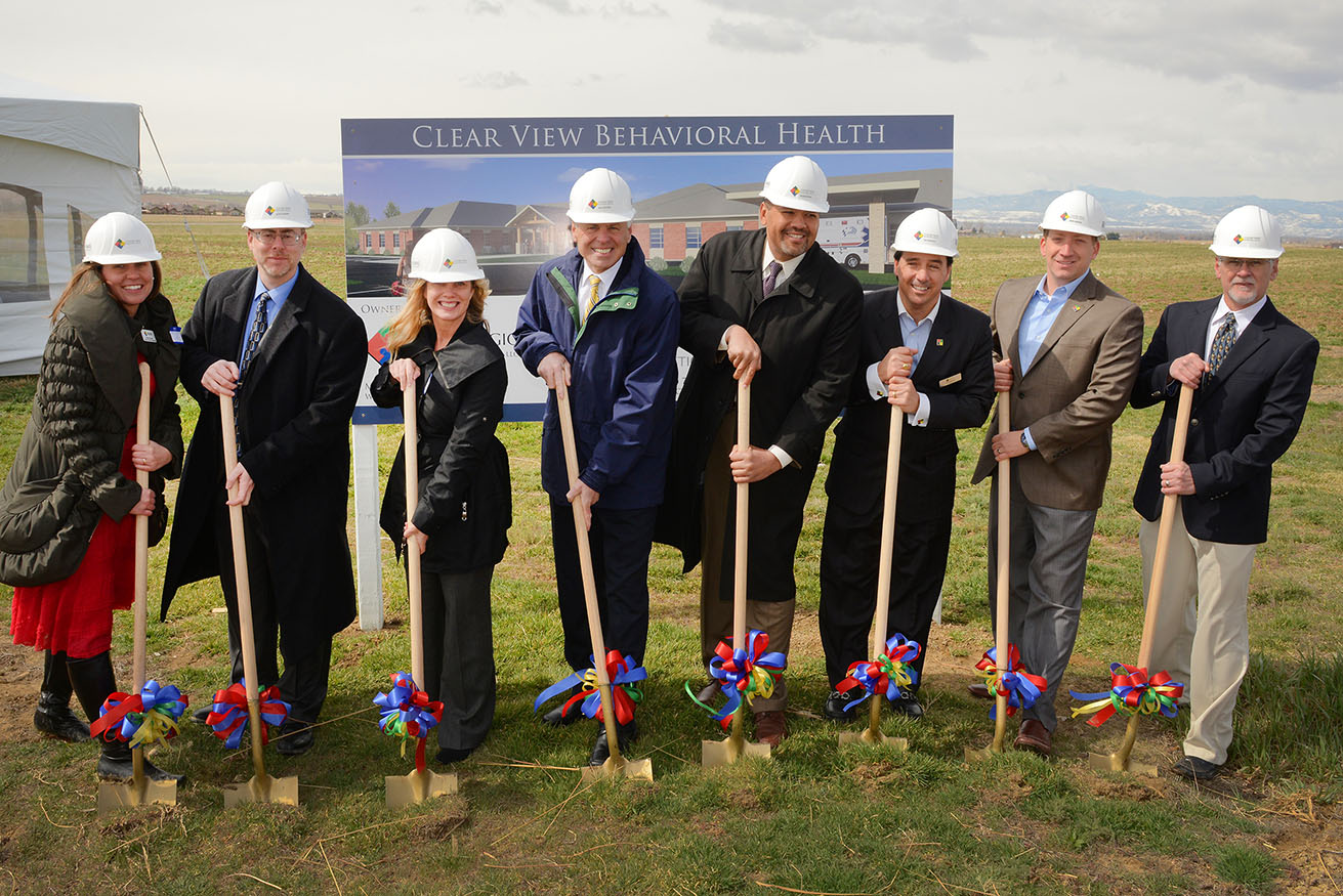 Sbh Groundbreaking In Johnstown Colorado Thomas Construction Group
