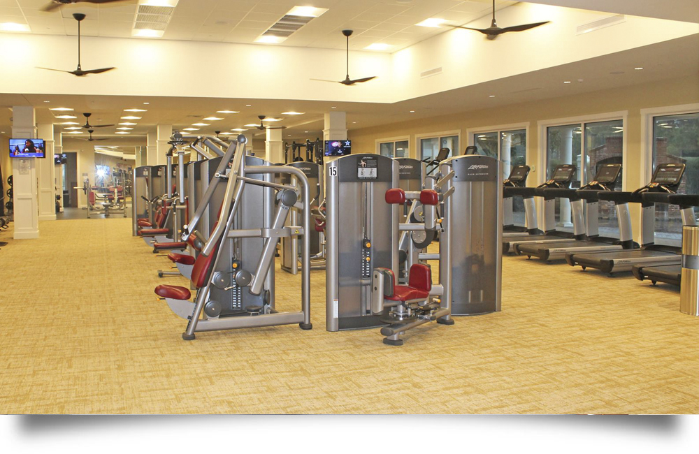 Landfall Drysdale Weight Room